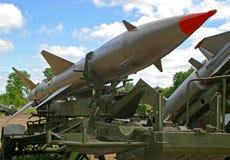 Lanzador de misil grande de travesía Foto de archivo