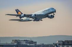 Lanzamiento A380 Fotografía de archivo