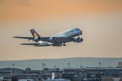 Lanzamiento A380 Fotos de archivo libres de regalías