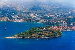 Cavtat, Croacia fotografía de archivo