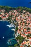 Cavtat, Croacia imagen de archivo
