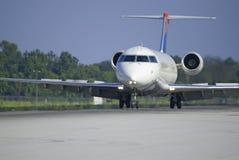 Lanzamiento comercial del jet Fotografía de archivo libre de regalías