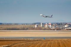 Lanzamiento de Airbus Imagen de archivo