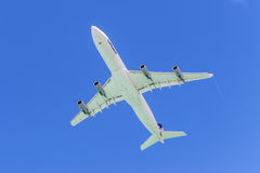 Lanzamiento de Airbus A340 de los aviones Fotos de archivo