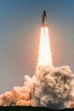 Lanzamiento de Atlantis-STS-135 Imagen de archivo libre de regalías