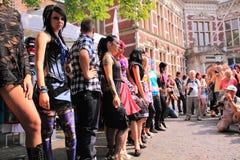 Lanzamiento de foto en la calle Imagenes de archivo