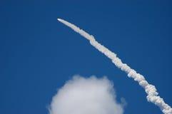 Lanzamiento de la lanzadera STS121 Imagen de archivo