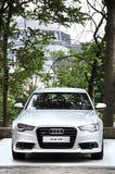 Lanzamiento de la prensa de Audi A6 en el amire del tophane-i que construye Estambul fotos de archivo