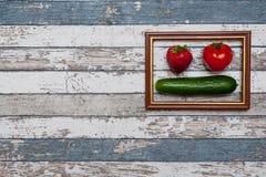 Lanzamiento de las verduras Imagenes de archivo