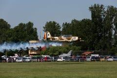 Lanzamiento de los aviones de jet Imagenes de archivo