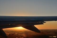 Lanzamiento de una salida del sol foto de archivo