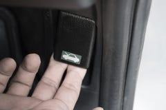 Lanzamiento del capo del coche Fotografía de archivo libre de regalías