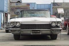Lanzamiento retro de Cadillac Fleetwood S62 1960 del coche Imagenes de archivo