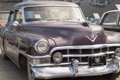 Lanzamiento retro de Cadillac S62 1950 del coche Imagen de archivo libre de regalías