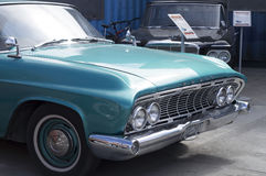 Lanzamiento retro de Dodge Polara 1961 del coche Fotografía de archivo