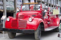 Lanzamiento retro del fuego 1942 de GMC del coche Imagenes de archivo