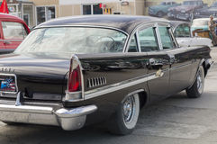 Lanzamiento retro del neoyorquino 1958 de Chrysler del coche Imagenes de archivo
