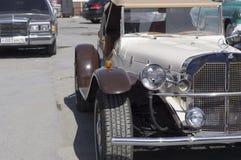 Lanzamiento SSK 1937 de Mercedes del coche retro Imagen de archivo libre de regalías