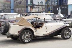 Lanzamiento SSK 1937 de Mercedes del coche retro Foto de archivo libre de regalías