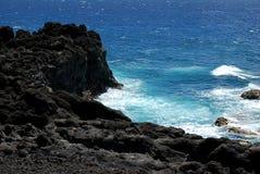 Lanzarote海滩 免版税库存图片