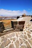 Lanzarote Ισπανία ο παλαιός όλη η πόρτα teguise arrecife Στοκ Εικόνα