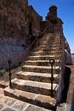 Lanzarote Ισπανία το παλαιό W Στοκ Φωτογραφίες