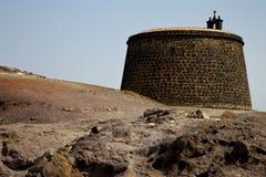 Lanzarote και πόρτα teguise arrecife Στοκ εικόνα με δικαίωμα ελεύθερης χρήσης