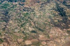 Lanzarote προσγειώνεται την εναέρια φωτογραφία στοκ εικόνες