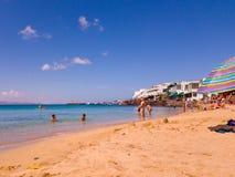 Lanzarote 1 fotografia de stock royalty free