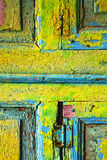Lanzarote abstract wood in  colors Royalty Free Stock Image