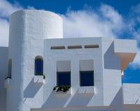 Lanzarote-Architektur Lizenzfreies Stockbild