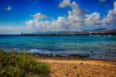 Lanzarote, Arrecife Στοκ Εικόνα