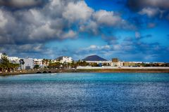 Lanzarote, Arrecife Στοκ Φωτογραφίες