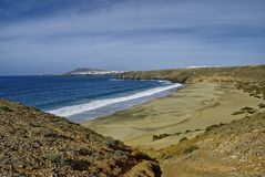 Lanzarote beach Stock Photography