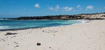 Lanzarote beach Royalty Free Stock Photos