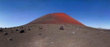 Lanzarote - caldera Colorada Imágenes de archivo libres de regalías