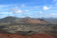 Lanzarote on the Canaries. Beautiful Island Lanzarote on the Canaries royalty free stock image