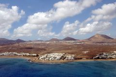 Lanzarote, Canary Island Stock Photography