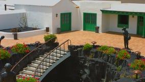 Lanzarote Canary Islands stock video footage