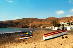 Lanzarote in the Canary Islands, Spain Royalty Free Stock Photography
