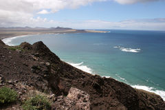 Lanzarote coast Royalty Free Stock Photos