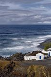 Lanzarote coastline Stock Images
