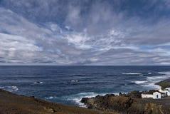 Lanzarote coastline Stock Image