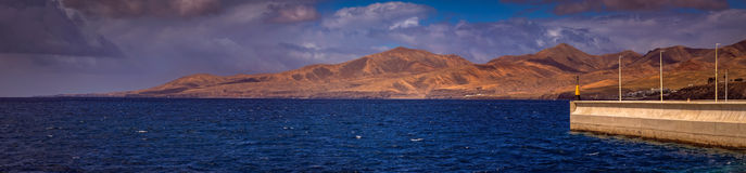 Lanzarote coastline Stock Photo