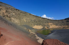 Lanzarote EL Golfo 005 Στοκ Φωτογραφία