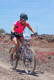 LANZAROTE, ESPAÑA - 3 DE MAYO: Maria del Pilar N345 en la acción en los Adv Fotos de archivo