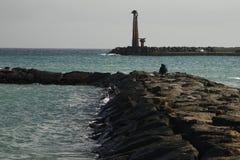 Lanzarote-Felsen lizenzfreie stockbilder