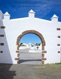 Lanzarote-Flugsteig 2 Stockfotografie