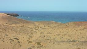 Lanzarote island, Atlantic ocean stock video footage