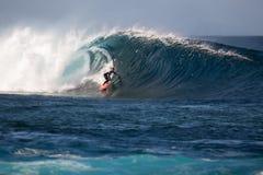 Lanzarote - 25 janvier 2016 : athlète en concurrence Photos stock